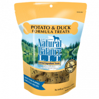 Natural Balance L.I.T. Limited Ingredient Treats Potato and Duck Dog Treats
