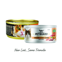 Petguard Chicken & Beef Dinner Canned Cat Food