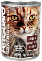 Petguard Tender Beef and Wheat Germ Dinner Canned Cat Food