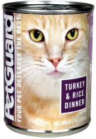 Petguard Turkey And Rice Dinner Canned Cat Food