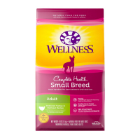 Wellness Complete Health Natural Small Breed Adult Turkey and Oatmeal Recipe Dry Dog Food