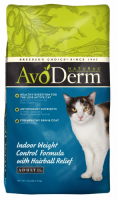 Avoderm Natural Corn Free Indoor Weight Control and Hairball Relief Formula Dry Cat Food