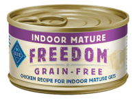 Blue Buffalo Freedom Grain Free Indoor Mature Chicken Recipe Canned Cat Food