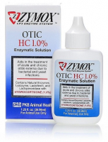 Zymox Otic Enzymatic Solution with Hydrocortisone for Cats and Dogs