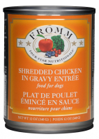 Fromm Four Star Shredded Grain Free Chicken in Gravy Entree Canned Dog Food