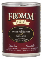Fromm Grain Free Beef & Sweet Potato Pate Canned Dog Food
