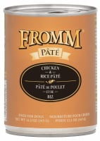 Fromm Chicken & Rice Pate Canned Dog Food