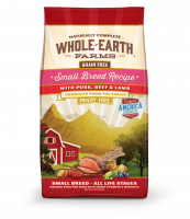 Whole Earth Farms Grain Free Small Breed Recipe with Pork, Beef and Lamb  Dry Dog Food