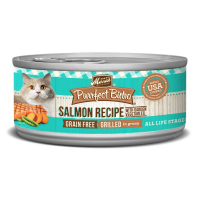 Merrick Purrfect Bistro Grain Free Grilled Salmon & Vegetables Recipe Canned Cat Food