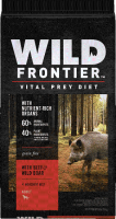 Wild Frontier Vital Prey Diet Grain Free Beef & Wild Boar Dry Dog Food