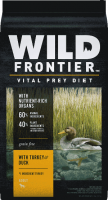 Wild Frontier Vital Prey Diet Grain Free Turkey & Duck Recipe Dry Dog Food