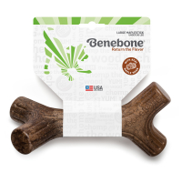 Benebone Maplestick with Real Maple Wood Durable Chew Toy for Dogs