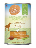 Canine Naturals Chicken & Sweet Potato Dinner Pate Canned Dog Food