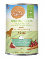 Canine Naturals Lamb & Brown Rice Dinner Pate Canned Dog Food