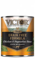 Victor Grain Free Chicken & Vegetable in Gravy Canned Dog Food