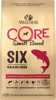 Wellness CORE SIX Salmon with Chickpeas Recipe Small Breed Dry Dog Food