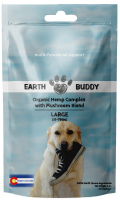 Earth Buddy Organic Hemp Capsules Complex with Mushroom Blend for Large Breed Dogs