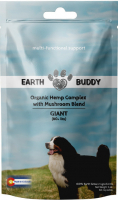 Earth Buddy Organic Hemp Capsules Complex with Mushroom Blend for Giant Breed Dogs
