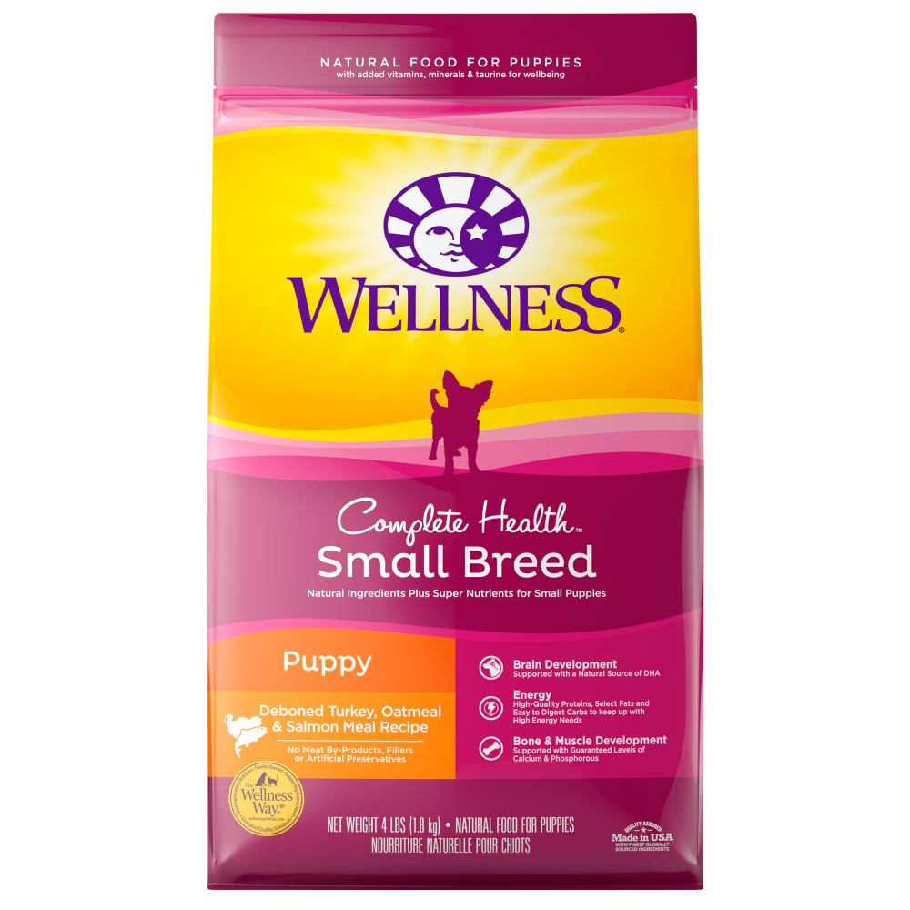Wellness Complete Health Natural Small Breed Puppy Healthy