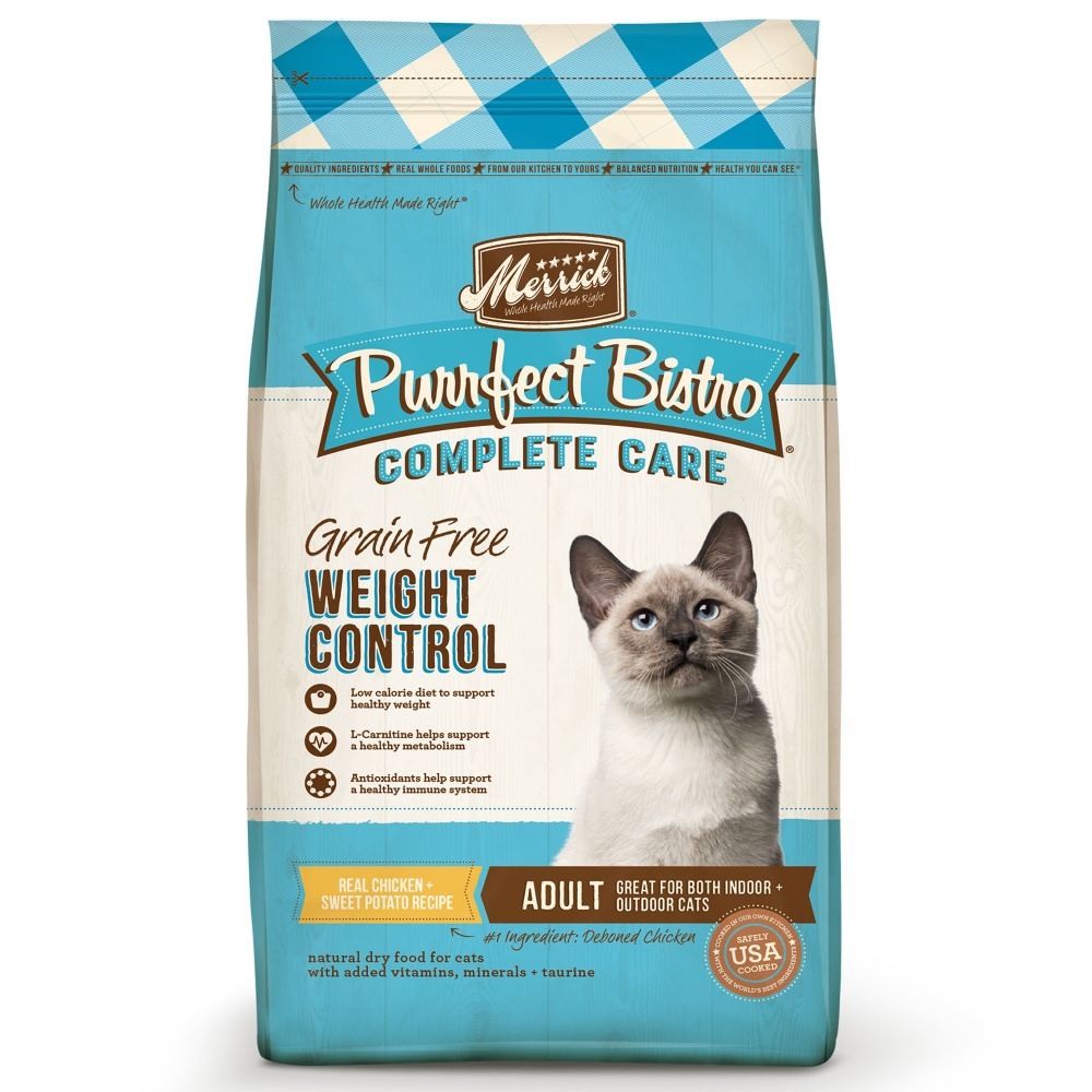 Merrick Purrfect Bistro Complete Care Weight Control Dry