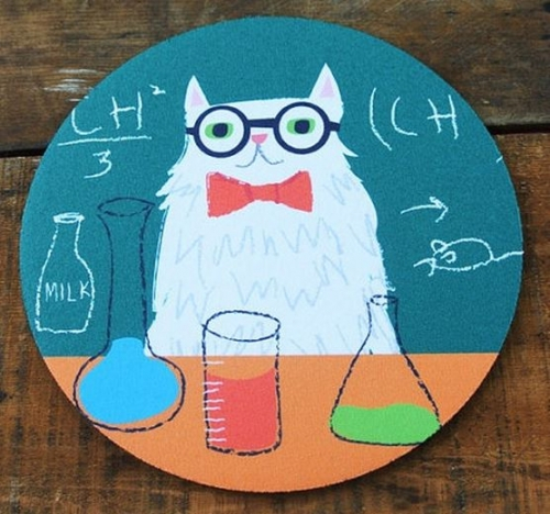 Common Rebels Chemistry Cat Mousepad