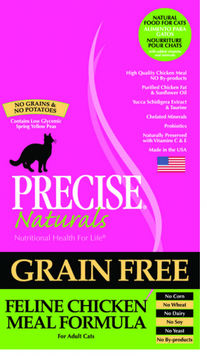 Precise Naturals Grain Free Chicken Dry Cat Food | PetFlow