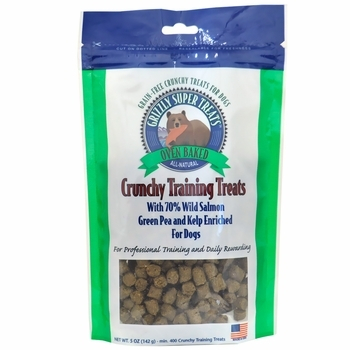 Grizzly Green Pea and Kelp Crunchy Training Treats for Dogs