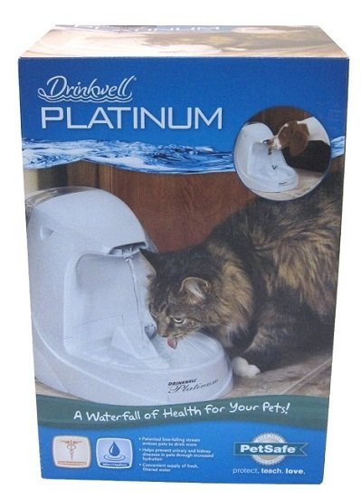 how to clean petsafe drinkwell platinum pet fountain