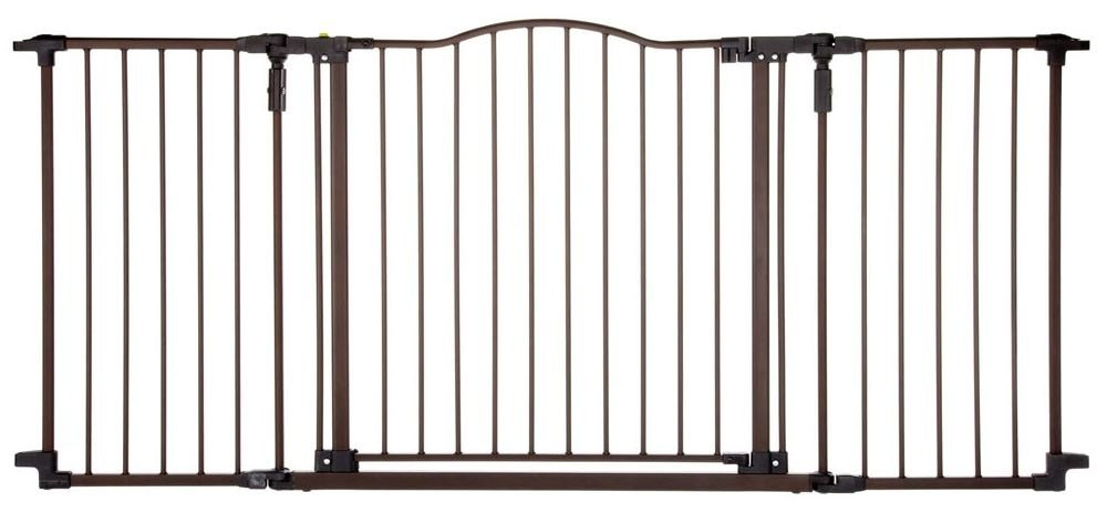 North States Deluxe Decor Wall Mounted Pet Gate Petflow