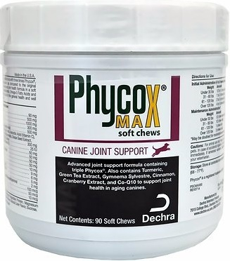 Phycox MAX Soft Chews Joint Support Dog Supplement