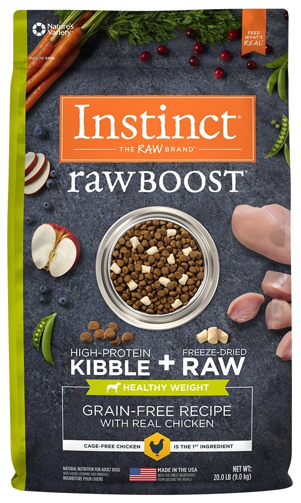 Instinct Raw Boost Grain Free Dry Dog Food By Nature