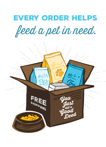 every order helps a pet in need