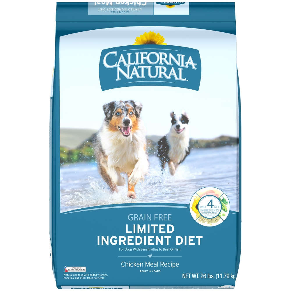 California Natural Dog Food Limited Ingredients